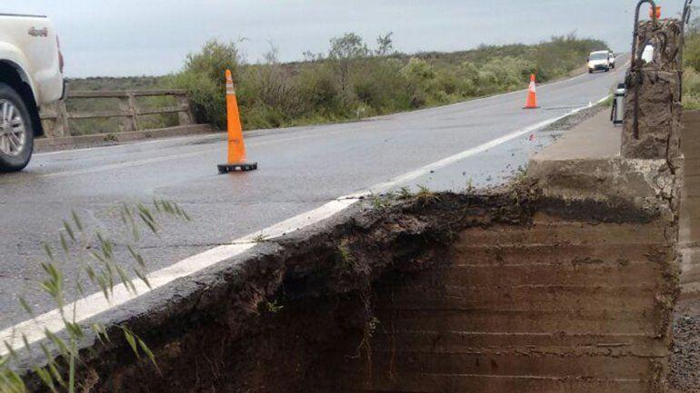 Piden circular con extrema precaución por Ruta 151