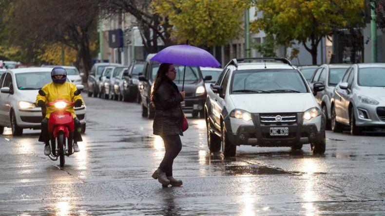 ¿Hasta cuándo seguirá la lluvia en el Alto Valle?