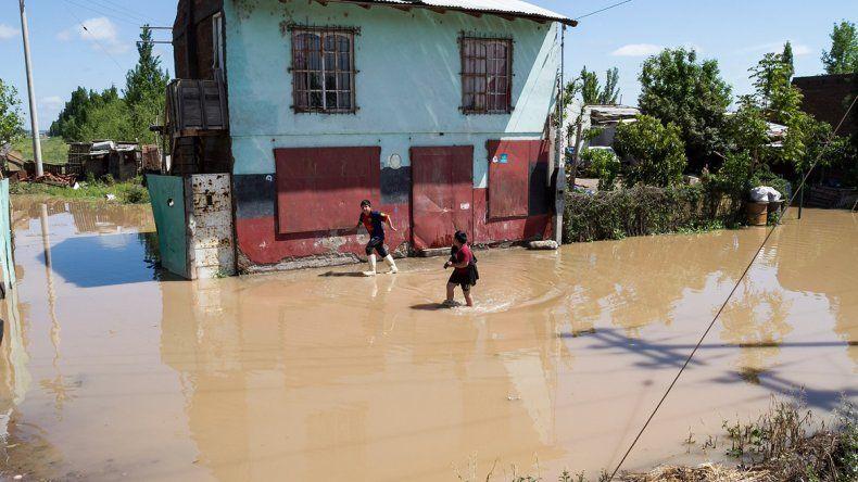 La atención sanitaria para los inundados