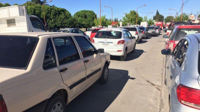 Por un corte en Ruta 7, hubo caos en el tránsito cipoleño