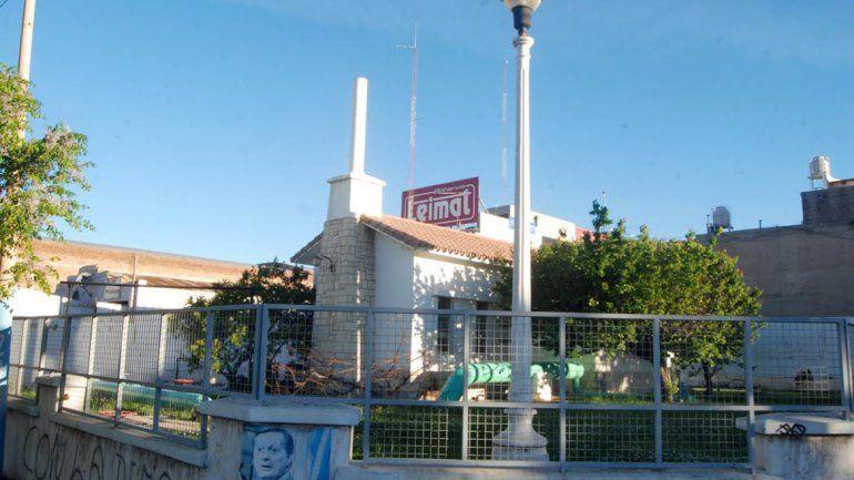 La planta de Toschi y General Paz sufrió por el exceso de agua.