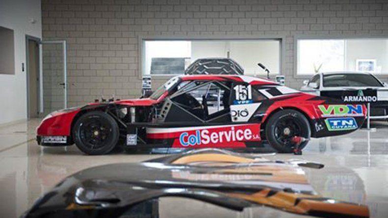 El Chevrolet de Urcera pasó por el rolo el miércoles.