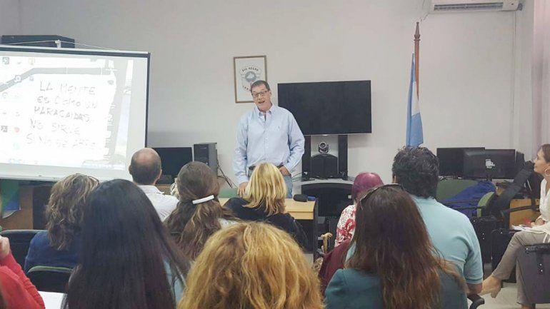 Uno de los disertantes integra el Registro de Mendoza.