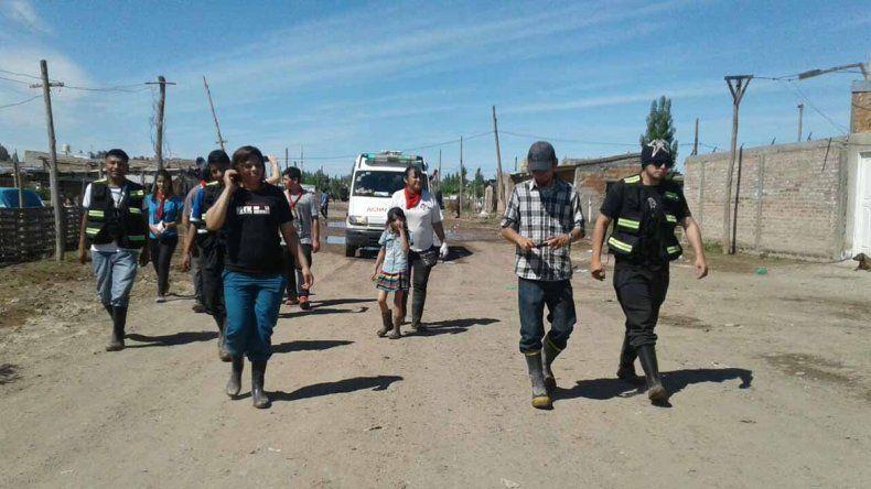 Médicos villeros llegaron para asistir a las familias de las tomas