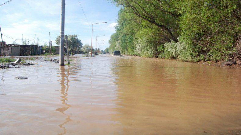 El temporal de la última semana inundó la ciudad por completo.