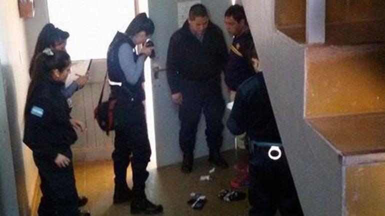 Salieron a comprar, y cuando volvieron encontraron un ladrón adentro de su casa