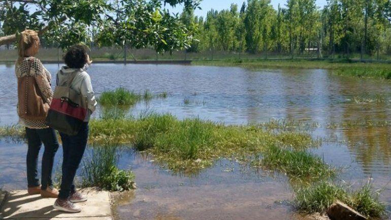 La escuela de La Falda aún continúa inundada y sin clases