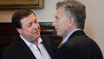 Weretilneck formó parte de la comitiva argentina encabezada por Mauricio Macri.