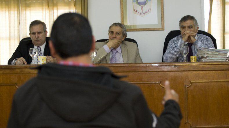 El camarista Julio Sueldo se encargó de argumentar la prisión efectiva.