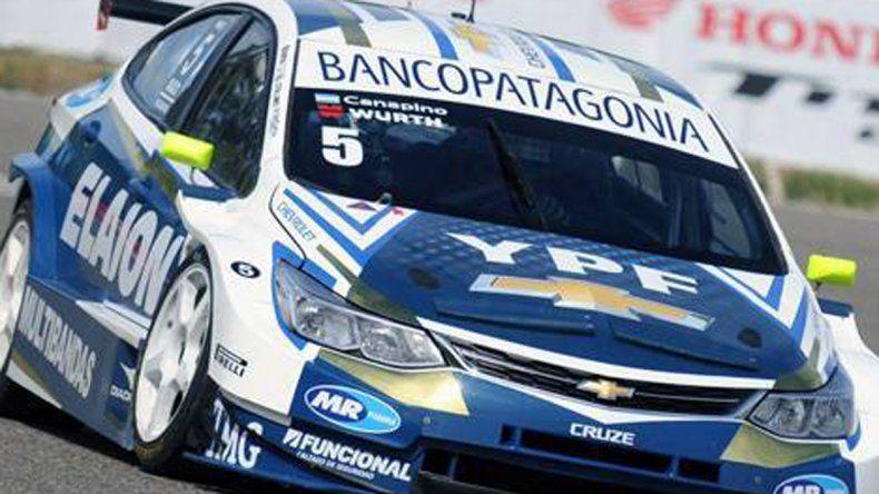 Súper TC2000: Canapino dominó el entrenamiento