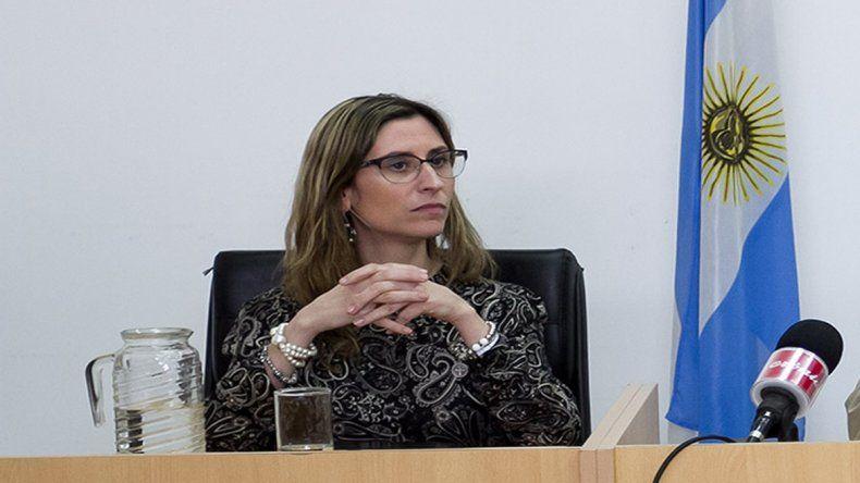 Jueza Florencia Caruso.