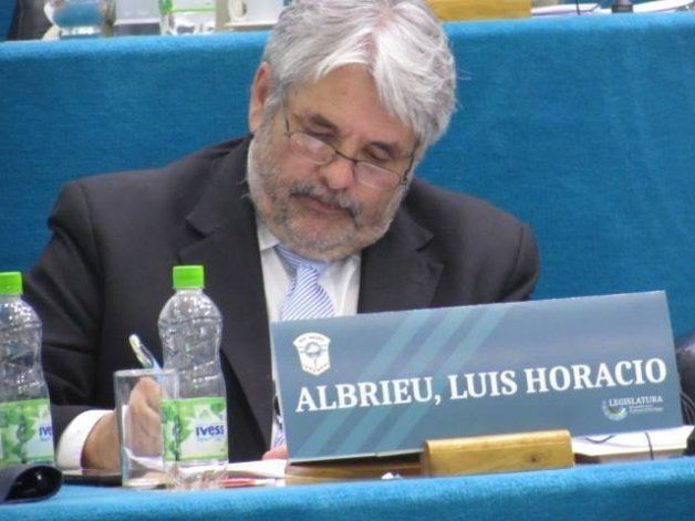 Luis Albrieu legislador del Frente para la Victoria.