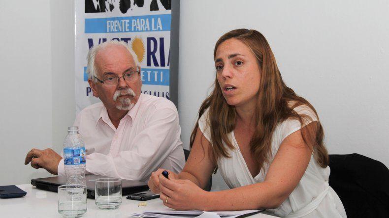 Soria visitó ayer a militantes cipoleños y dio detalles del presupuesto.
