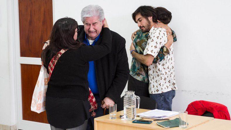 El último proceso oral que vivieron los Aguirre reflejó una gran tensión.