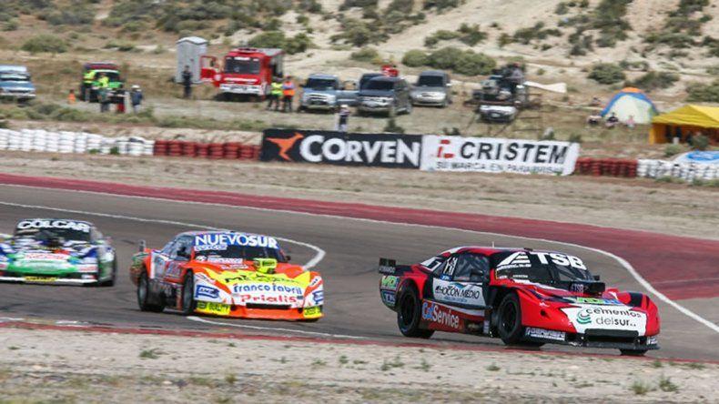 Urcera venía haciendo su mejor carrera en el TC hasta que rompió el auto.