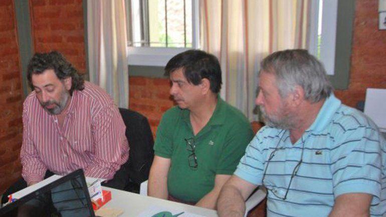 Matías Rulli y Rubén López se solidarizaron con Raúl Croceri.