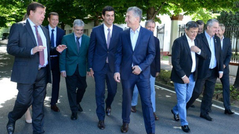 Weretilneck se reunió con Macri y respaldó el voto electrónico