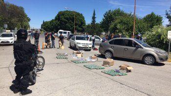 Secuestraron un importante botín de droga y detuvieron a dos mujeres en la Terminal