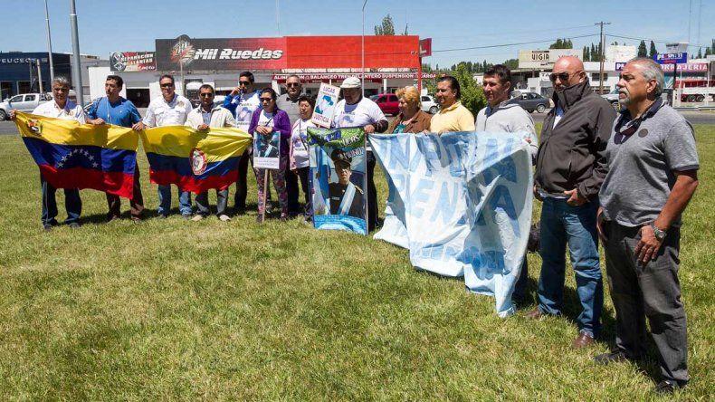 Familiares de Lucas Muños se manifestaron en la rotonda
