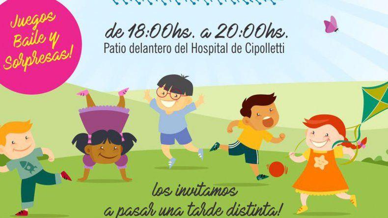 Con juegos y baile el hospital concientizará sobre obesidad infantil