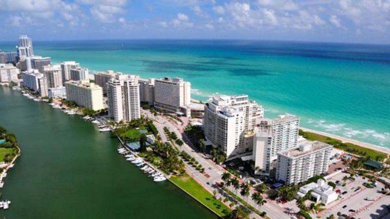 Las playas de Miami se están quedando sin arena