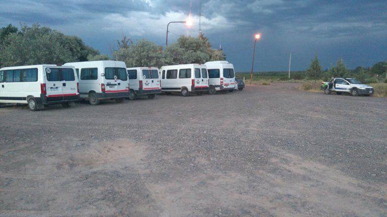 Secuestraron camionetas petroleras sin habilitación
