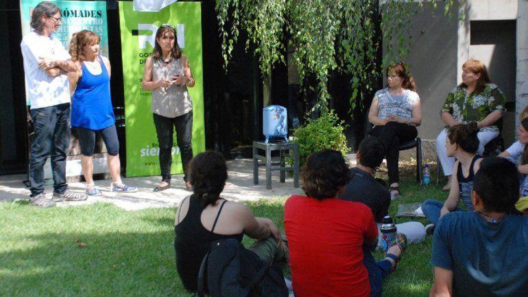 Ayer comenzó el evento en Casa Gris Galería de Arte