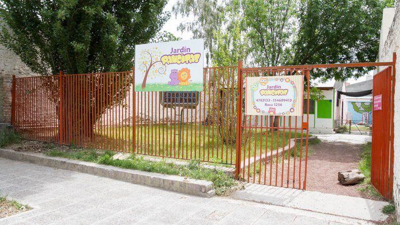 El jardín Pancitas llegará abierto por lo menos a fin de año.