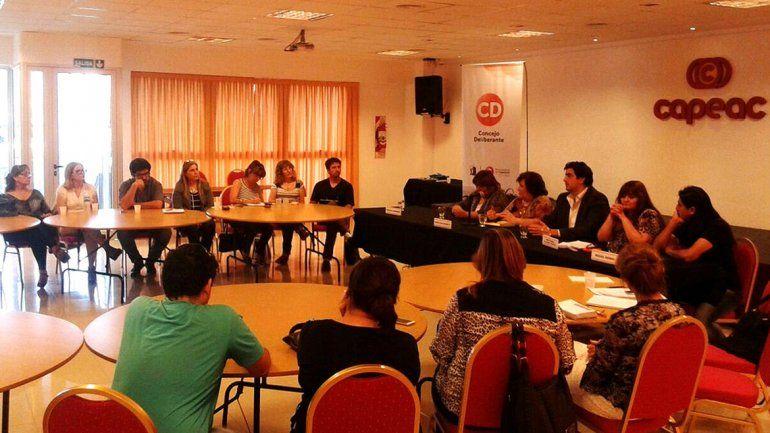 La reunión se hizo en las instalaciones de Capeac