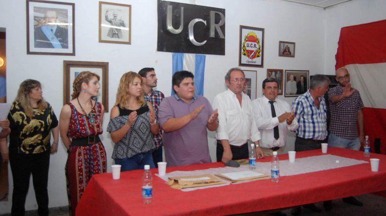 Asumieron las nuevas autoridades en el comité radical de la ciudad