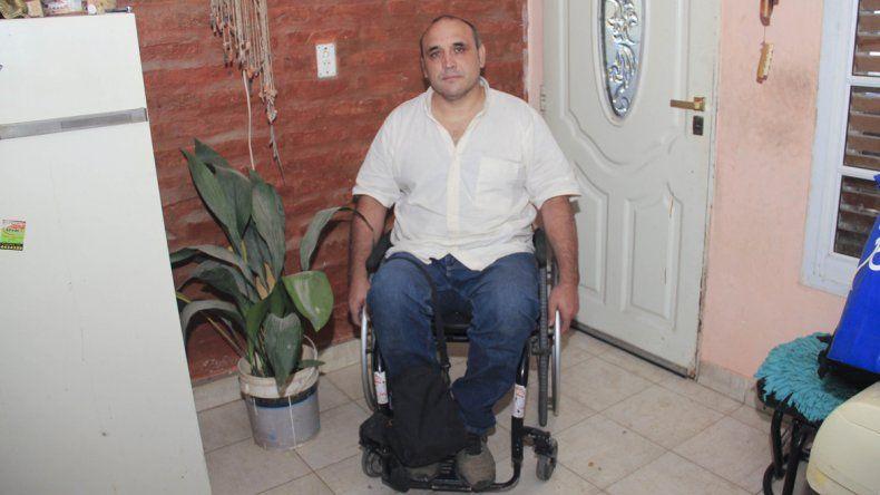Alberto Vázquez integra el Consejo para Personas con Discapacidad y lleva años luchando por la igualdad.