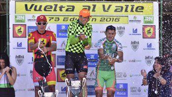 Ciudad de Chivilcoy tenía el nombre del ganador de la Vuelta al Valle. Mirasal y SEP de San Juan tocaron el podio.