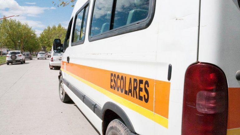 El paro del transporte escolar que paga Provincia duró una semana.