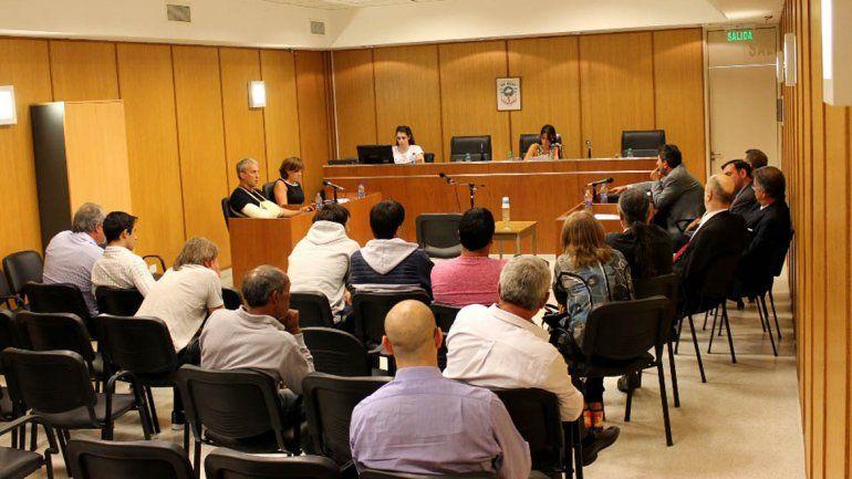 La audiencia previa al juicio contó con la presencia de los acusados.