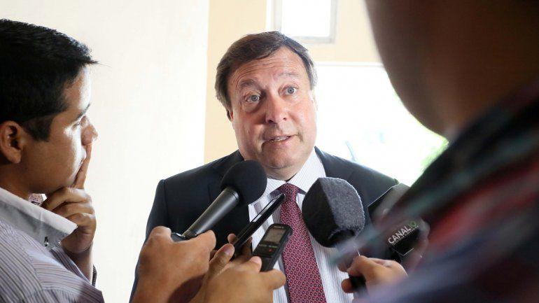 El gobernador respaldó el presupuesto aprobado por la Legislatura.