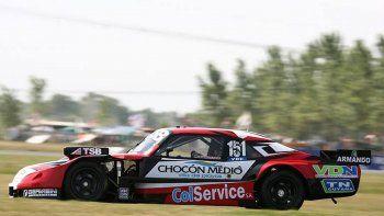 El piloto cipoleño cierra en La Plata su segunda temporada en el Turismo Carretera.