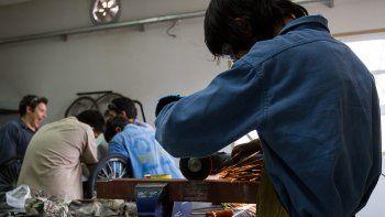 Los pibes cipoleños se vuelcan masivamente a los industriales, donde las clases en talleres tienen gran peso en la currícula educativa.