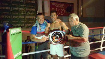 Pucará Jr. Vidal es una de las jóvenes proyecciones del boxeo nacional.