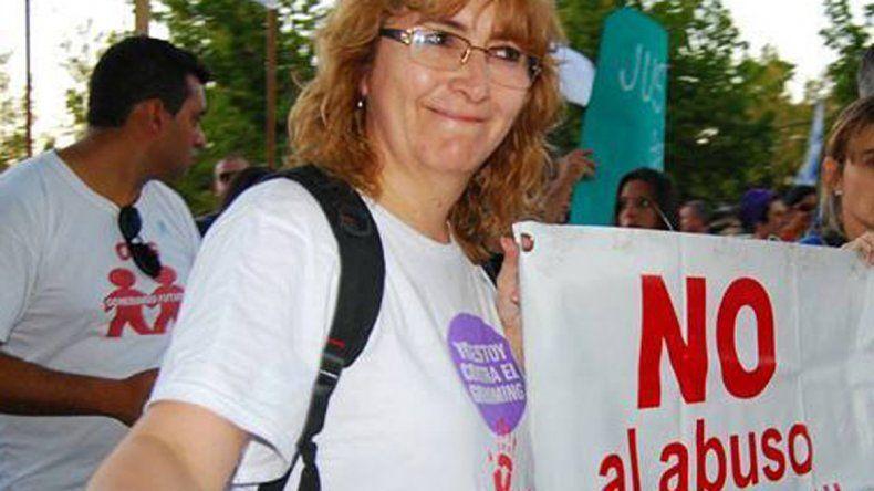 Rosa Castro acompañó a los estudiantes en el desarrollo del plan.
