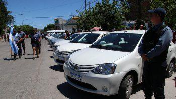 Los vehículos se distribuirán en las distintas jefaturas regionales.