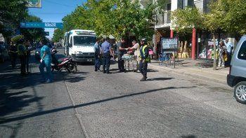 Dos personas heridas en un accidente de tránsito