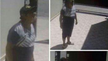 Por las imágenes, vecinos de la víctima reconocieron al ladrón.
