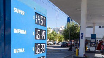 Las estaciones de servicio de Cipolletti remarcaron los precios.