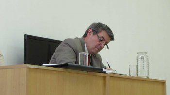 El fiscal Marcelo Gómez insistió en que el acusado quede tras las rejas.