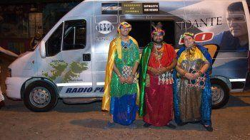 radio puerto argentino festejo la noche de los reyes magos