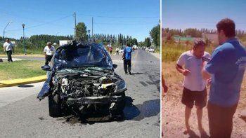 Mirá cómo se llevan al conductor borracho que atropelló y mató a una motociclista