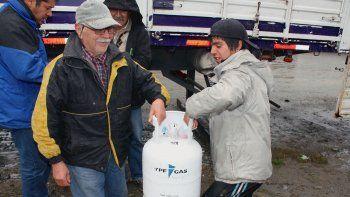 A través del Plan Calor asistieron a los que no tienen gas natural.
