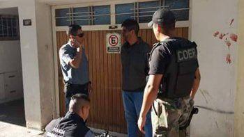 El delincuente fue atrapado por la Policía y terminó en la comisaría.