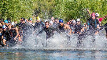Esta vez, los atletas no irán al río.