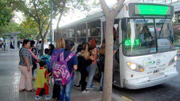 El servicio urbano es usado sobre todo en época de clases.